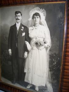 Antonios and Joanna Savaris